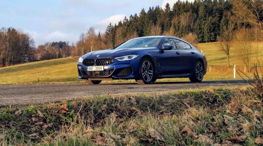 Recenze & testy: BMW 840d xDrive Gran Coupé: Automobil tak akorát