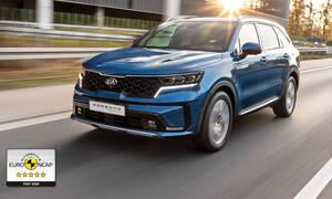 Tiskové zprávy: Nová Kia Sorento si odváží pět hvězd v hodnocení Euro NCAP