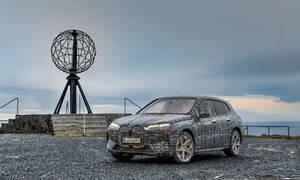 Tiskové zprávy: BMW iX prochází závěrečným zimním testováním na Severním mysu
