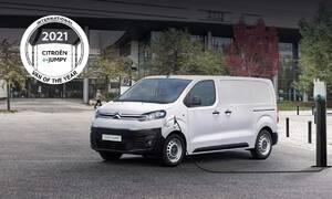 """Tiskové zprávy: Citroen Ë-Jumpy získal ocenění """"International Van Of The Year 2021"""""""