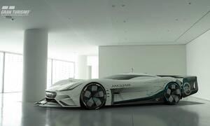 Tiskové zprávy: Jaguar Vision Gran Turismo SV: Čistě elektrický ultimátní herní speciál určený pro vytrvalostní závody