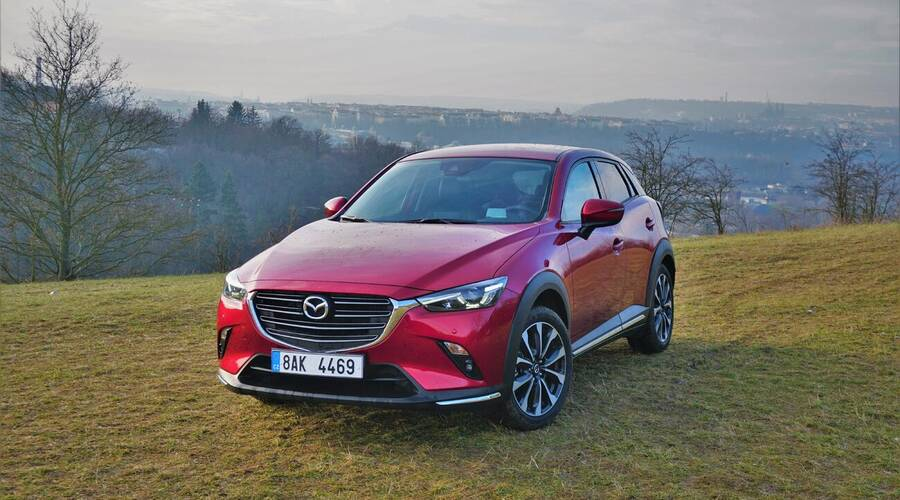 Recenze & testy: Mazda CX-3 Skyactiv-G121: Stárnoucí bestseller