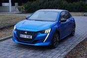 Peugeot e208 GT: Krásné auto, průměrný elektromobil