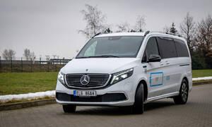 Recenze & testy: Mercedes EQV: Bílý trolejbus