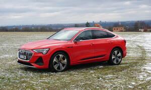 Recenze & testy: Audi e-tron Sportback 55 quattro: Stylový fešák, kterému chutná