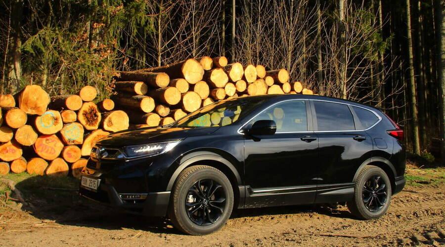 Recenze & testy: Honda CR-V e:HEV AWD Sport Line: Darth Vader bez převodovky