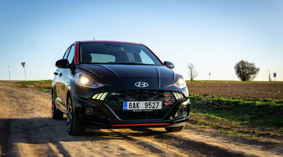 Recenze & testy: Hyundai i10 N-Line Style: Malý špión