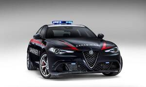 Historie: Alfa Romeo & Carabinieri: Pomáhat, chránit a vypadat sakra dobře