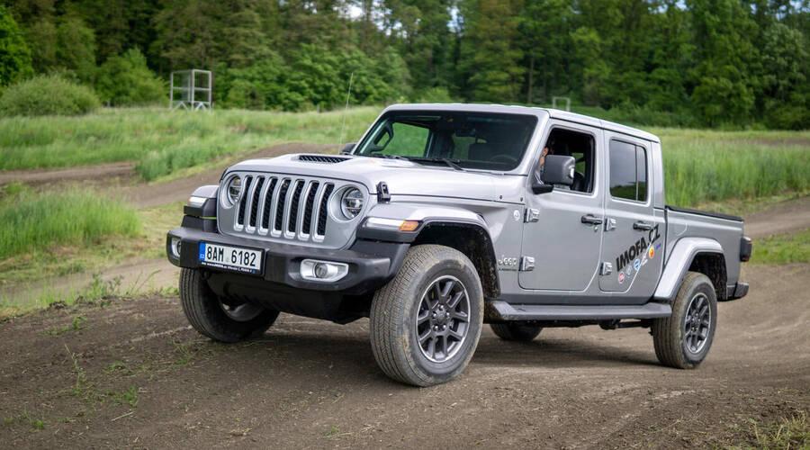Recenze & testy: Jeep Gladiator 3.0 V6 CRD: Práce počká, nejdřív zábava!