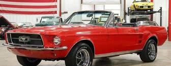Ford Mustang Convertible V8, Na cestě do ČR 1967