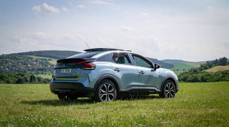Recenze & testy: Citroën ë C4: Design i chytrost