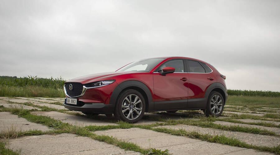 Recenze & testy: Mazda CX-30 e-Skyactiv X186: Stále stejně jiná