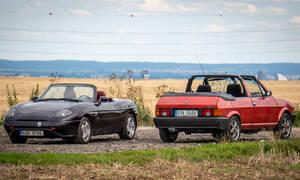 Recenze & testy: Bertone Ritmo Cabrio a Fiat Barchetta: Italští hadráci