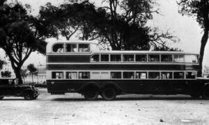 Historie: O štok výš: Z historie třípodlažních autobusů