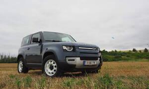 Recenze & testy: Land Rover Defender 90 D200: Dospělácká hračka