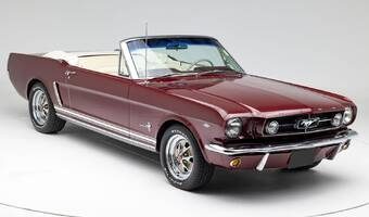 Ford Mustang Convertible V8, Na cestě do ČR 1965