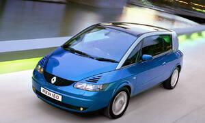 Historie: Renault Avantime: Odvážnému štěstí nepřálo