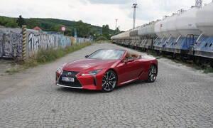 Recenze & testy: Lexus LC 500 Convertible: Záleží na každém momentu