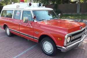 Chevrolet Suburban C10 Ambulance  1970