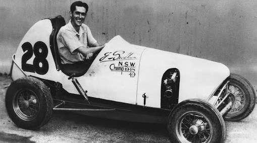 "Jack Brabham s midgetem ""28"", 1948-1949"
