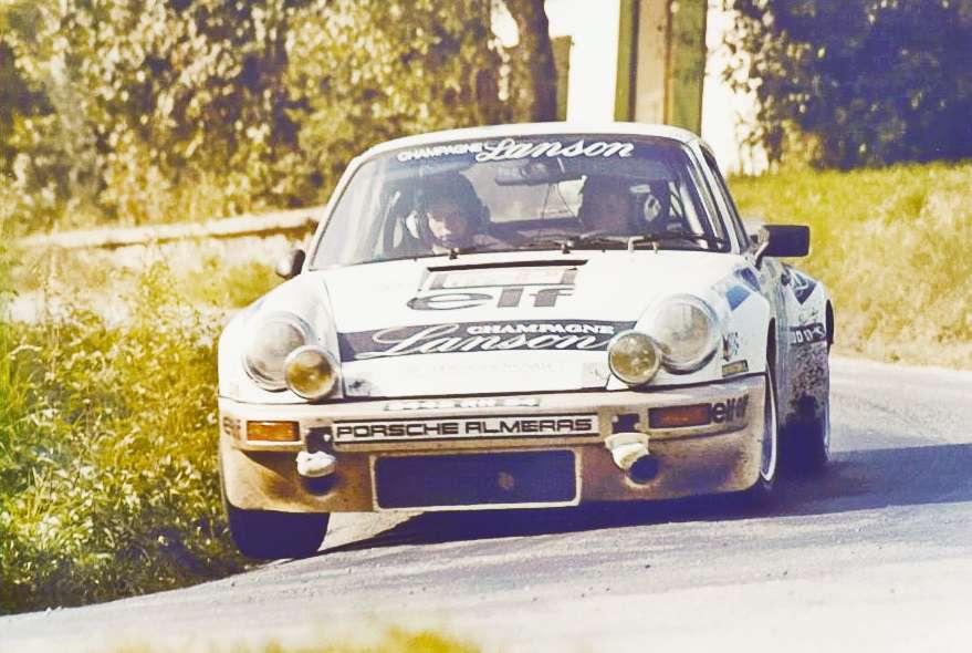 S Porsche 911 Carrera začala Michèle sbírat úspěchy v absolutním pořadí.