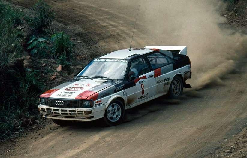 Čtvrté a poslední vítězství v podniku MS rally si Michèle připsala v Brazílii.