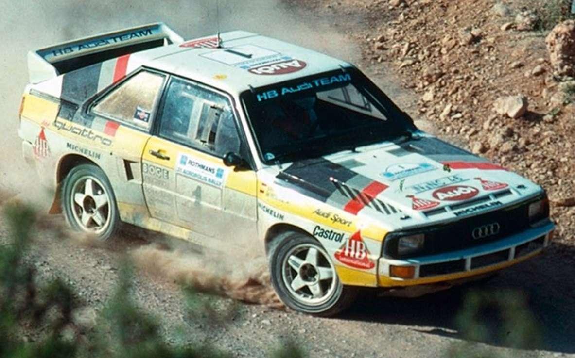 Na Pikes Peak 1985 vytvořila s vozem Audi absolutní traťový rekord.