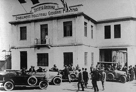Rodinný podnik Stabilimenti Industriali Farina