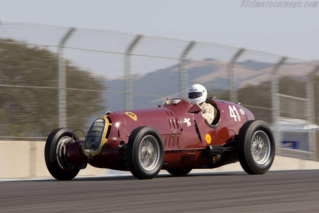 Alfa Romeo 8C - 35 (vůz Tazia Nuvolariho)
