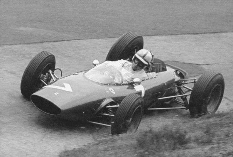 Ferrari 156 – vůz se kterým si Surtees dojel pro první vítězství v GP – Nürburgring 1963