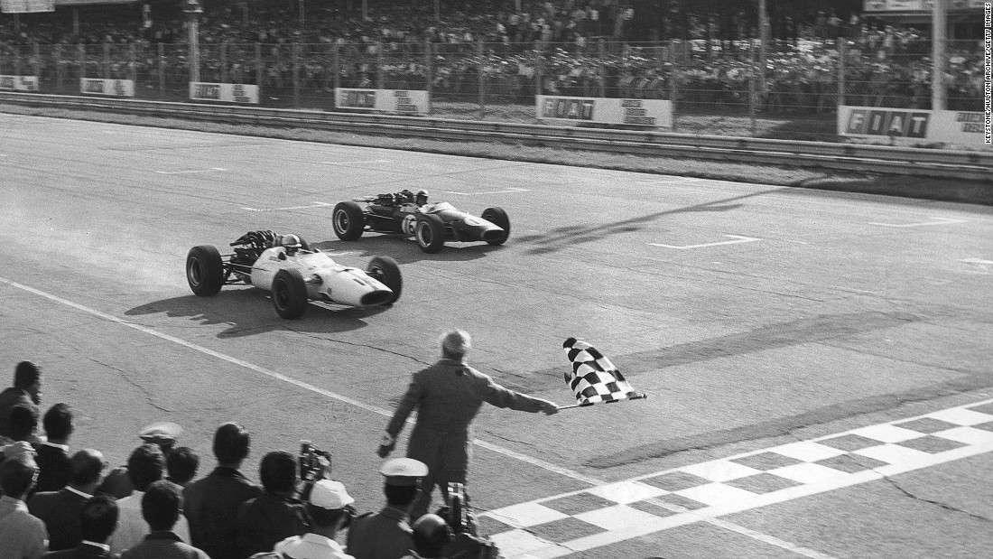 Těsný finiš v Monze 1967