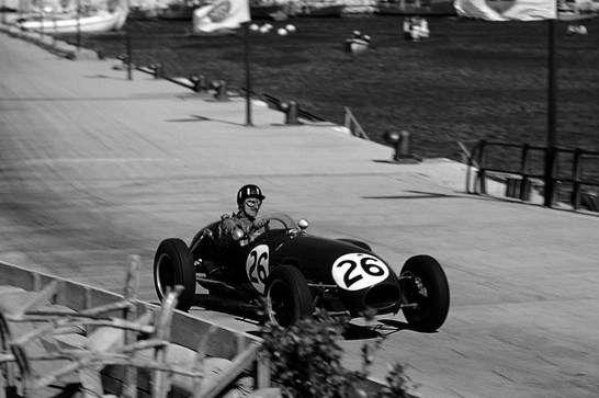 Debut Grahama Hilla ve Formuli 1 s Lotusem 12, Velká cena Monaka, 1958.