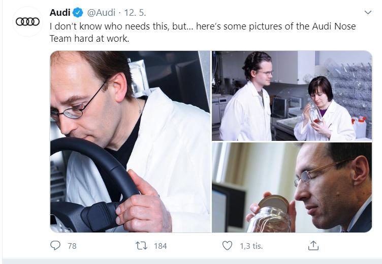 Foto: Twitterový účet Audi