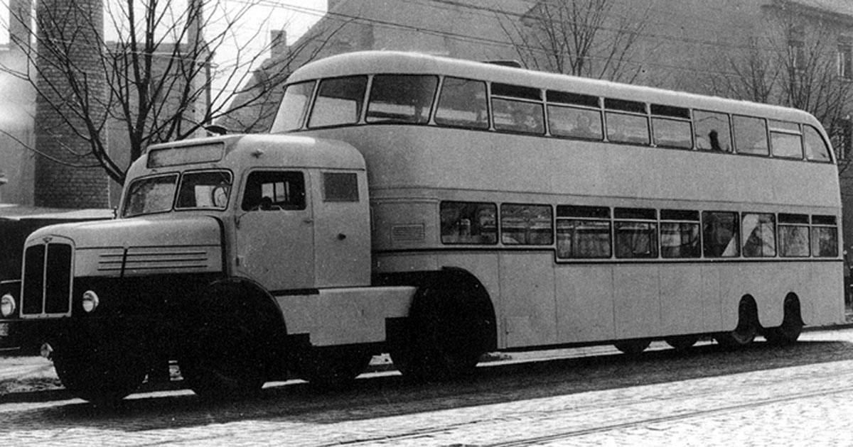 Opel Blitzbus z poloviny padesátých let je typickým představitelem zlaté éry osobních návěsů. Foto: Pietvanhees.nl