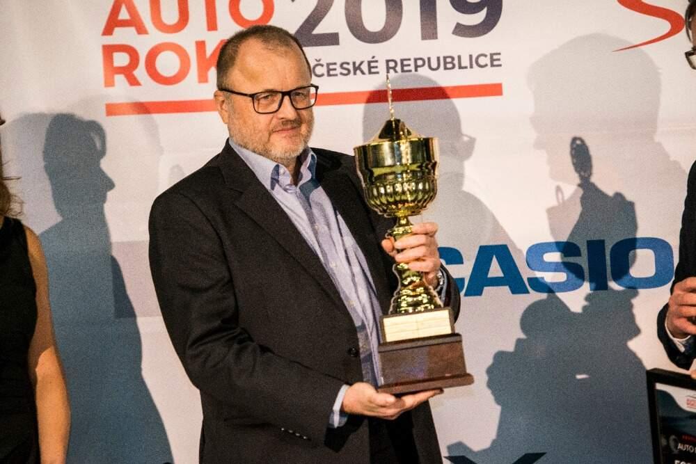 Další trofej z ankety Auto roku, tentokrát pro čtvrtou generaci Fordu Focus. 2019